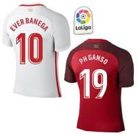 7ac0012cb8 Spain Sevilla Camisola de Futebol J.NAVAS Football 2019 Camiseta de futbol  de distância EVER