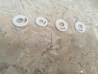 SADECE Beyaz Pad Silikon O halka Silikon Mühür O-ringler değiştirme TFV4 TFV8 TFV8 için Orings bebek X Büyük TFV12 Prens Atomizer DHL