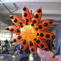 متعدد الألوان 3M رصدت نفخ زهرة نفخ عباد الشمس للحزب والحدث الديكور