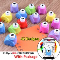 42 styles mini diy punch craft hole puncher scrapbooking cards circle flower paper cutter shaper kid child handmade gift embossing device