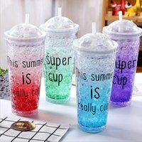 550ML Capacity Summer Colorful Cool Cold Ice Fashion Ice Cup...