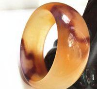 Beau Noble Hetian Jade Bangle Chinois Bracelet Coloré Sculpté À La Main 58-60mm