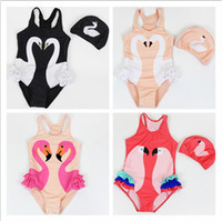 Toddler Kids Swimwear 2018 Baby Girls Flamingos Swimsuit Gir...