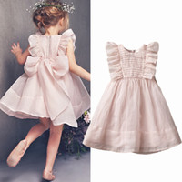 New Summer Ruffles Doll shirt dress Children' s girls cl...