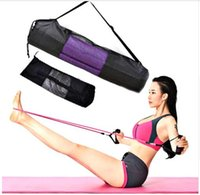 New Convenience Blackyoga Rucksack Yogamatte wasserdichte Rucksack Yoga Matte Tasche Nylon Pilates Carrier Mesh verstellbaren Strap Sport Tool