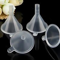Mini Pequeno Funis Líquido Perfume Líquido Transparen Óleo Essencial De Embalagem Vazia Garrafa De Cozinha Bar Ferramenta De Jantar WX9-328