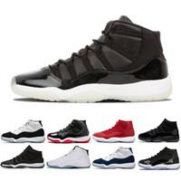Erkek ayakkabı 11'ler Şapkanız basketbol ayakkabıları Spor Kırmızı Buğday erkek spor gündelik spor ayakkabıları yetiştirilen Kadife Heiress sneaker uzay Bred sneaker