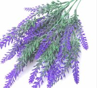 Romantique Provence décoration fleur de lavande fleurs artificielles en soie grain décoratif Simulation de plantes aquatiques GA496