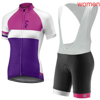 Tour de France 2018 Liv Team Manica Corta Pro Cycling Jersey Camicia Bicicletta MTB Bib Bib Shorts Suit Donne Abbigliamento da ciclismo 81812Y