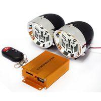 3-Zoll-Motorradverstärker Bluetooth-Stereo-Lautsprecher-Anti-Diebstahl-Alarmgerät Auto Hi-Fi-Sound MP3 FM Radio PowerBank-Funktion