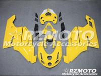 Spritzgussform Komplette Verkleidungen für Dukati 749 999 2003-2004 Dukati 749 999 03 04 Motorrad Gelb X54
