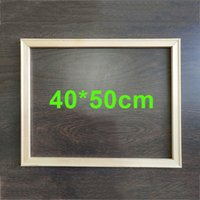 DEYI Wood Painting Frame Fit 40*50cm Painting by number
