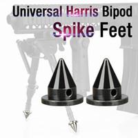 ユニバーサルハリスバイポッドスパイク足の交換のカルドウェルブラックホークなどビポッド良い品質CL33-0226 304#/ 45#