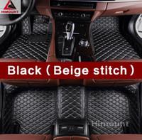 Tapis de sol de voiture pour Mercedes Benz C E GLK GLC M ML GLE classe X204 X205 W164 W166 W204 W205 W211 W212 W213 tapis de haute qualité tapis