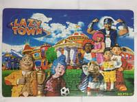 2019 iWish 42x28cm Lazy Town Puzzle LazyTown 2D Playying Fußball Puzzles Weihnachten Kinder Spielzeug für Kinder Baby-Spielzeug Lustige Neuheiten