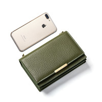 wholesale Women' s Purse Large Capacity Leather Wallet Fe...