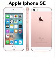 """Оригинальный разблокированный Apple iPhone SE 4.0 """"дюймовый 16/64 GB ROM 2 ГБ ОЗУ 12MP A9 Чип IOS 9.3 отпечатков пальцев Двойное ядро 4G LTE отремонтирован"""