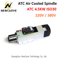 4. 5KW ATC Air Cooled Spindle Motor 24000RPM ISO30 220V 380V ...