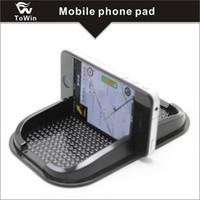 Anti-Slip Сотовый телефон Pad Универсальный для приборной панели автомобиля Нескользящий силиконовый резиновый гелевый коврик для мобильного телефона, подставка для мобильного телефона.