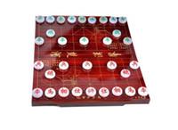 Recoger juego de ajedrez de jade blanco natural de China juego de ajedrez Xiangqi con caja de envío gratuito