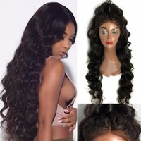 Full Lace Wigs For Black Women Pre Plucked Body Wave 150% De...