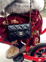 2018 Mini children' s bag fashion big- name children chan...