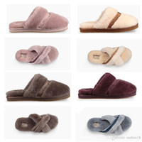 Brand slippers warm Warm cotton slippers Men Womens boots Sn...