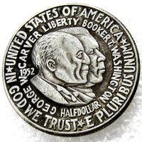 Hot Selling 1952 Washington Carver Commemorative Half Dollar Gratis Frakt Billiga Fabrikspris Trevligt Hem Tillbehör Silver Mynt