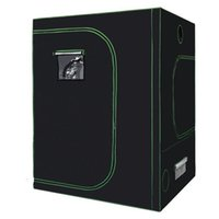 Reflective Mylar Grow Tent Green plant room with Obeservatio...