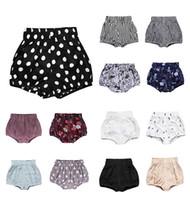 INS Pantalones cortos para bebés niños pequeños PP Pantalones Chicos Casual Triángulo Pantalones Chicas VERANO BLOOMERS Infantil Bloomer Briefs Pierna Cubierta Perrapos OW-07