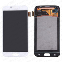 30 ADET LCD Ekran Dokunmatik Ekran Digitizer Meclisi Yedek Parçalar Samsung Galaxy S6 AMOLED G920 G920A G920F