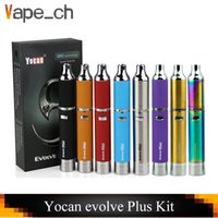 Original Yocan Evolve Plus Starter Kit Wax herbal Vaporizer ...