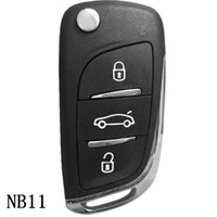Ключ серии NB11 KEYDIY NB многофункциональный дистанционный для KD300 и KD900 для того чтобы произвести любой модельный remote с около красным ключом