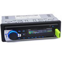 노스 캐롤라이나 12V 자동차 스테레오 FM 라디오 MP3 오디오 플레이어 지원 블루투스 전화 USB / SD MMC 포트 자동차 전자 인 - 대시 1 딘 뜨거운