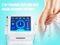 Schönheitssalon 2in1 HIFU High Intensity Focused Facelifting Faltenentfernung und Vaginal Hifu Straffmaschine