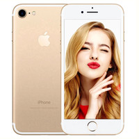 iPhone original da Apple 7 2GB RAM 32 ROM 4.7inch Quad-Core IOS 10 4G LTE 12.0MP câmera Remodelado iPhone 7 Fingerprint Telefone