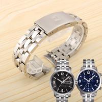 19mm 20 MM solide en acier inoxydable 1853 bracelet de montre pour e 1853 T-SPORT PRC200 T17 T461 T014430 T014410 bracelet homme