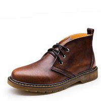 2018 spring and autumn England men' s Martin boots Marti...