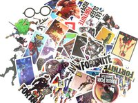 46 pcs set Game Fortnite Sticker Personality Luggage sticker...