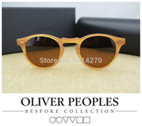 Occhiali da sole vintage da uomo e da donna No BurdenOliver Peoples Gregory Peck5186 occhiali da sole polarizzati design retrò