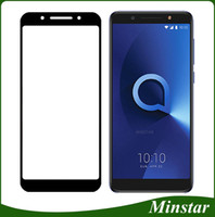 Full Cover Tempered Glass For Alcatel 7 Revvl 2 plus 5052w I...