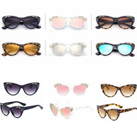 6colors Fashion Cat Eye Sunglasses Women Vintage carved sung...