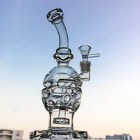 Fab Egg Glass Bong Showerhead Perc Water Pipes Recycler Bong...