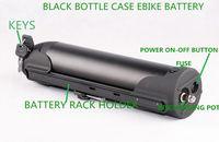 36V 14Ah 600W batería eléctrica de la bicicleta con la caldera negro tubo de la botella de agua en China cargador de envío libre de impuestos 2A AU EE.UU. UE
