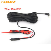 FEELDO 10 metros 2.5mm TRRS Jack Connector a 4Pin Cable de extensión de video para camión / Van Car DVR Camera Backup Camera # 1280