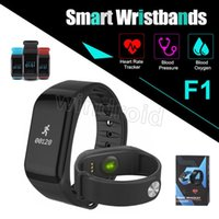 Wristband del braccialetto di frequenza cardiaca astuta del braccialetto di frequenza cardiaca con il pedometro Braccialetto di orologio dell'ossigeno del sangue 20pc