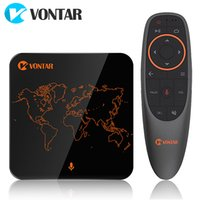 VONTAR V1 Google Voice Control Android 7. 1 TV Box with Amlog...