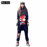 f12c9c9d352 2017 Boo Ace Winter Hip-hop Anime Printed Jumpsuit for Women Bodysuit  Hippie Baggy Rompers Womens Jumpsuit Free Size 301201