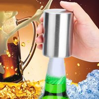 2018 Stainless Steel Beer bottle Openers Automatic Bottle Op...