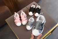 Autumn kids shoes children leisure shoes boys girls shell sn...